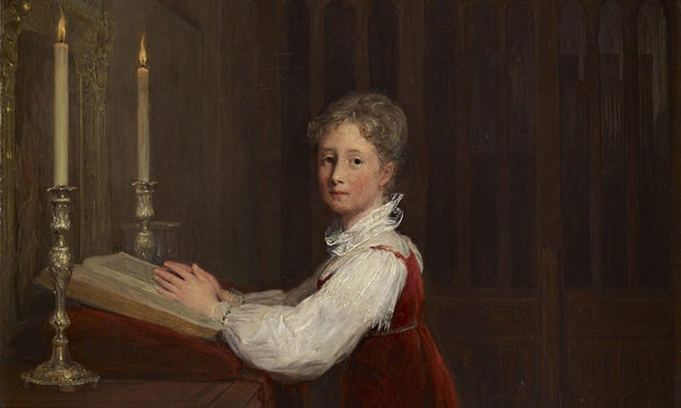 art detectives young woman kneeling prayer desk david wilkie